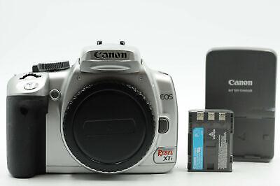 Canon EOS 400D 10.1MP Digital SLR Camera Body Silver Rebel XTi              #133