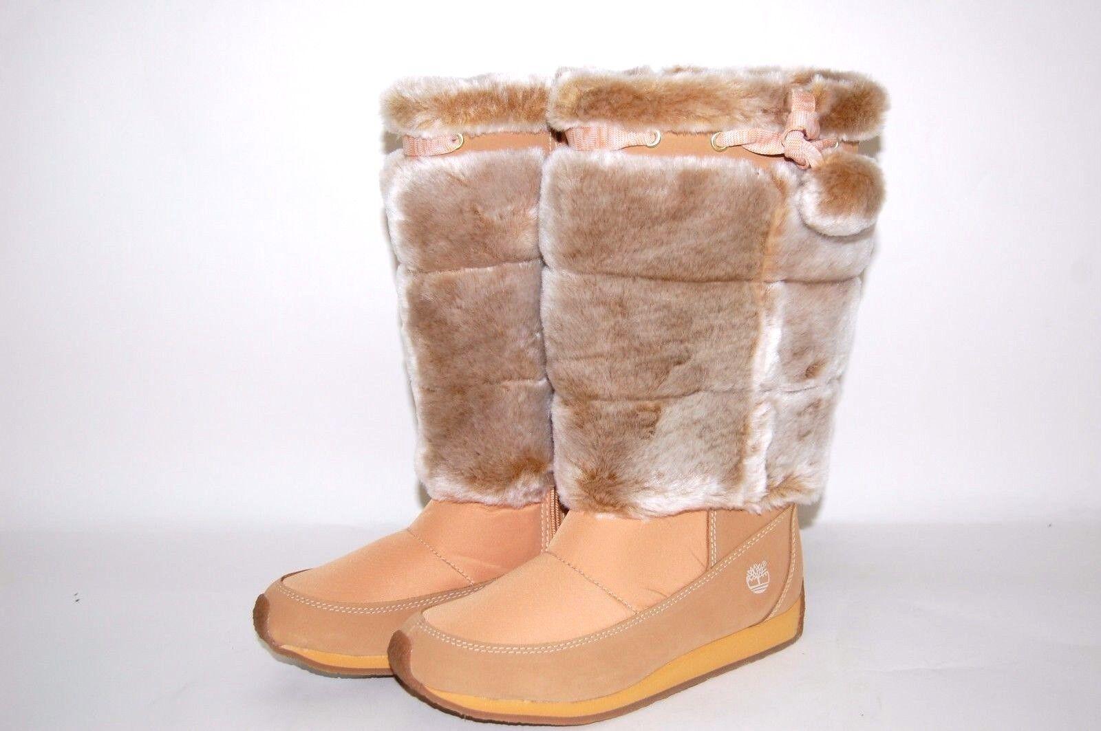 Timberland Junior Winter Berry Tall Boots 59996 Wheat Big Ki