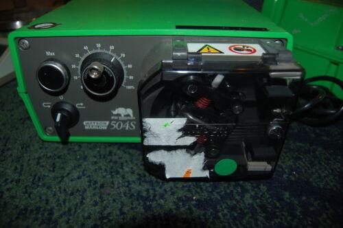 Watson Marlow 504S Peristaltic pump easy load drive head dose  1 dispensing 504S