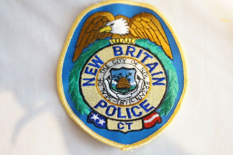 US City of New Britain Connecticut Police Patch