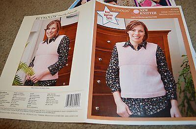 Reynolds Gerat American Merino Knitting Pattern Leaflet 82505