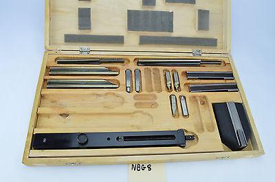 Mitutoyo 516-601 Rectangular Gage Block Accessories Set Metric 14 Pieces