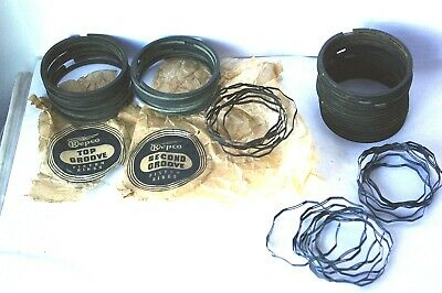 Car Parts - Car Buick Ring Set 8/40 with Fitting Instructions Repco 1950-1953 car Parts