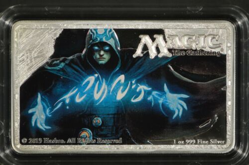 2014 New Zealand Mint $2 Jace the Mind Sculptor Silver Coin Magic the Gathering