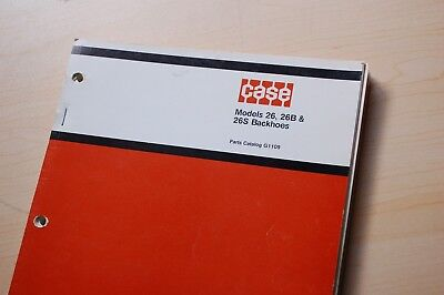 Case 310g 350 450 Crawler Tractor 26 26b 26s Backhoe Parts Manual Book Catalog