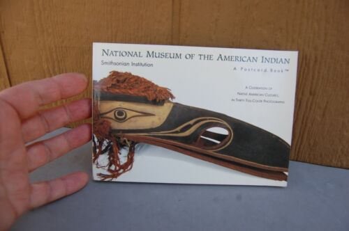 National Museum of American Indian  Postcard Book Smithsonian Institution 1994
