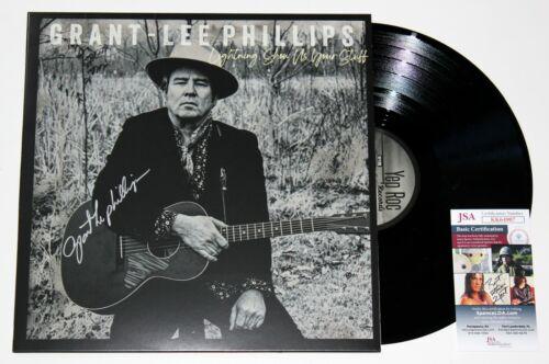GRANT-LEE PHILLIPS SIGNED LIGHTNING SHOW US WHAT YOU GOT LP VINYL RECORD JSA COA