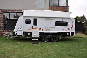 CARAVAN HIRE MELBOURNE SE - 2014 Jayco Expanda Outback 17.56-1 Cranbourne South Casey Area Preview