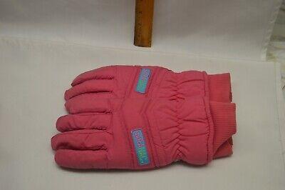 Vintage Saranac Ski Gloves Women's Medium Neon Hot Pink Pink Ski Gloves