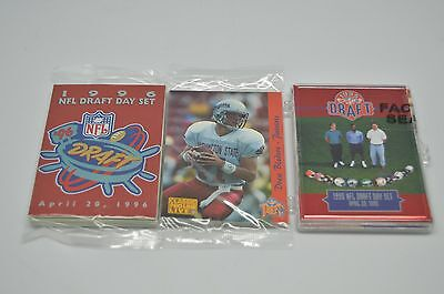 Lot of 36 NFL DRAFT DAY CARD SETS 93 95 96 CLASSIC PRO LINE 12 of each 20A-J (Classic Nfl Draft)