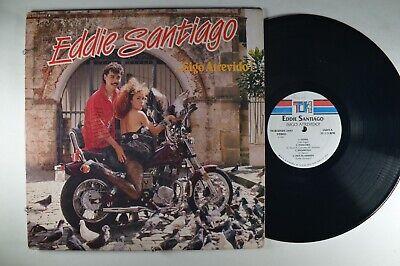 EDDIE SANTIAGO ... Sigo Atrevido! LATIN LP