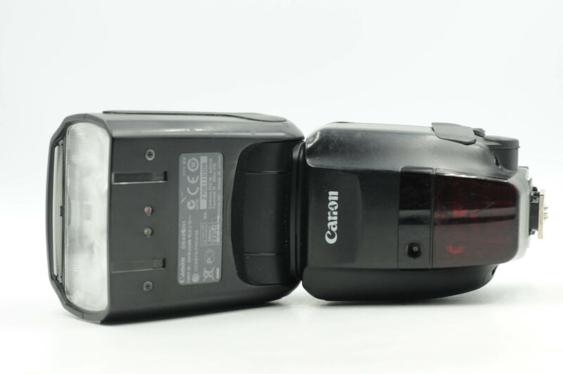 Canon 600EX-RT Speedlite Flash                                              #509