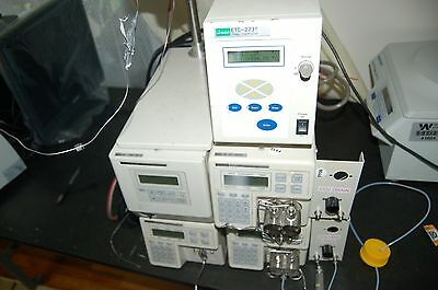 Jasco Pu-1586 Uv- 1575 Detector Pump Hplc System Intelligent Bp-1580-81