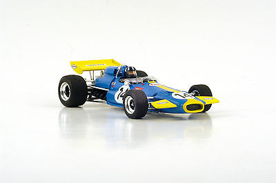 S4338 Spark 1/43: Brabham BT33 n.14 South African GP 1971 9th Place Graham Hill