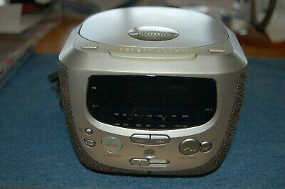 PHILLIPS Alarm Clock CD Radio