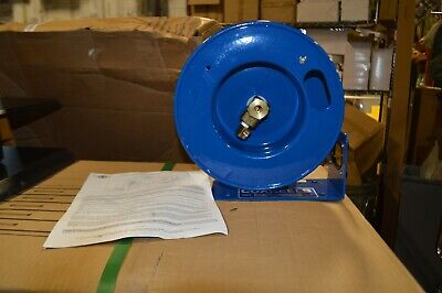 5000 PSI 50 hose capacity Coxreels HPL-N-150 Heavy Duty Spring Rewind Hose Reel for grease//hydraulic oil: 1//4 I.D. less hose