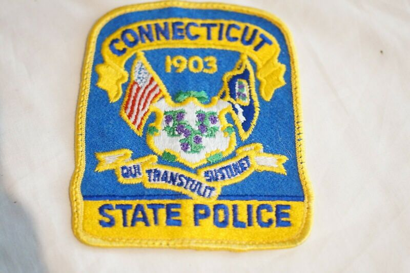 US State Police Connecticut Police Patch 1