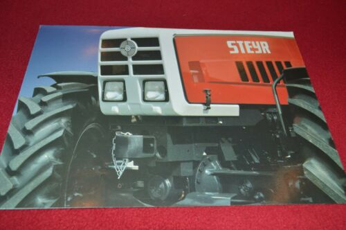 Steyr Tractor Guide For 1983 Dealers Brochure CDIL