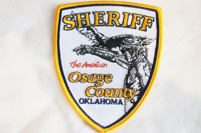 US Osage County Sheriff Oklahoma Police Patch