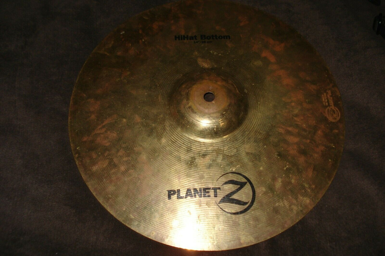 Planet Z Hi-Hat Bottom 14 /36 Cm Drum Cymbal - $30.00
