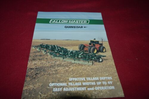 Fallow Master Quinstar Tillage Equipment Brochure FCCA