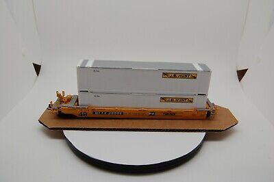 HO Athearn Blue Box Trailer Train, BN, DTTX 73096 Husky Stack - 5 car set.
