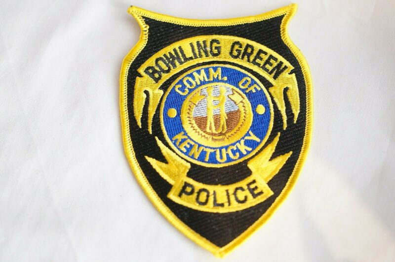 US Bowling Green Kentucky Police Patch 1