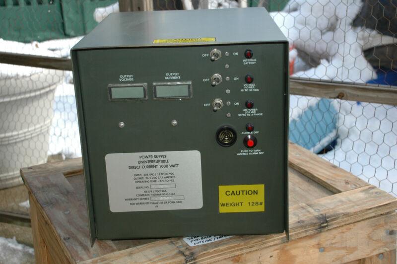power supply, uninterruptible, 1000 watt,PN#06179