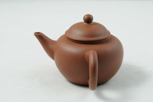 1960-1970s Chinese yixing red clay Shui Ping Teapot Vintage Factory #1