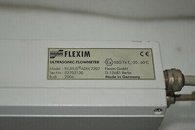 Flexim Fluxus Adm 7207 Ultrasonic Flowmeter