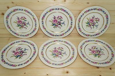 "Castleton Manor Lot of (6)  Salad Plates 8 3/8"""