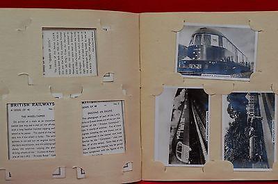 1938 BRITISH RAILWAYS COMPLETE SET OF 48 SENIOR SERVICE CARDS!!