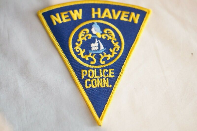 US New Haven Connecticut Police Patch 1