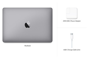 "Apple 12"" MacBook - Space Grey"