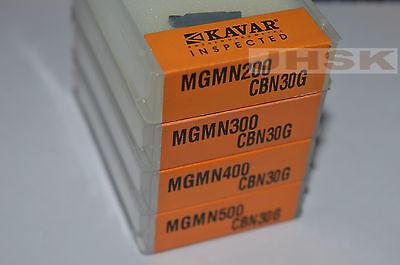 2pcs Mgmn200-g Cbn Insert 2mm Cutting Blade Cubic Boron Nitride Diamond