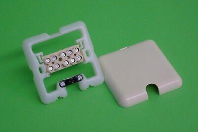 3m Herdanschlusskabel 5x2,5mm² Set Herdanschluss Merten Herdanschlussdose UP