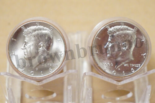 2016 P&D Kennedy Half Dollar Uncirculated 2 Coins Philadelphia & Denver Mint 50c