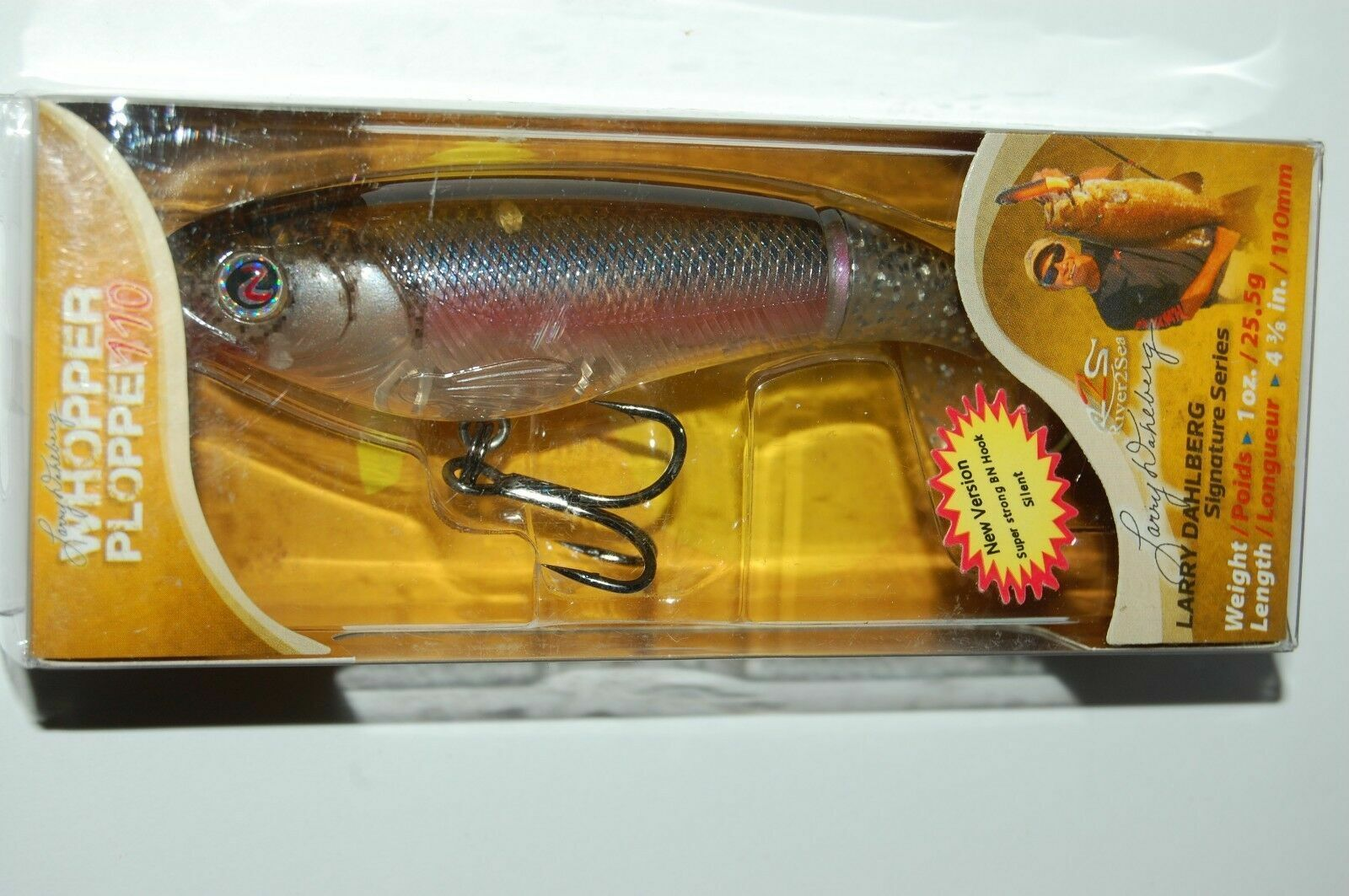 RIVER2SEA Whopper Plopper 75 #WPL75//21 in POWDER for Bass//Pike 3//5 oz 3/""