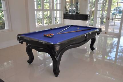 Athens 8 Foot Pool Table Full Set