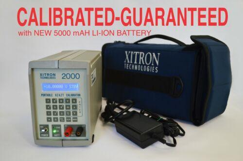 XITRON 2000MN  Precision portable V A T Calibrator CALIBRATED AND GUARANTEED