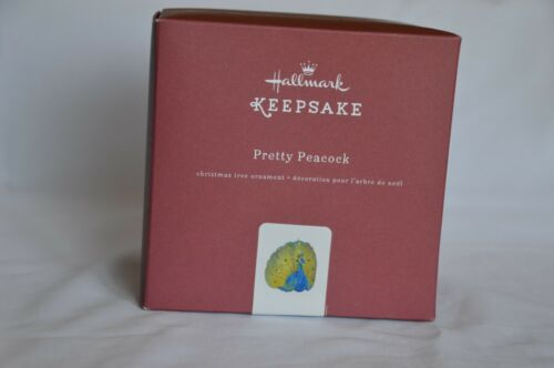 HALLMARK 2016 PRETTY PEACOCK  MADE OF METAL. NEW IN BOX MINT