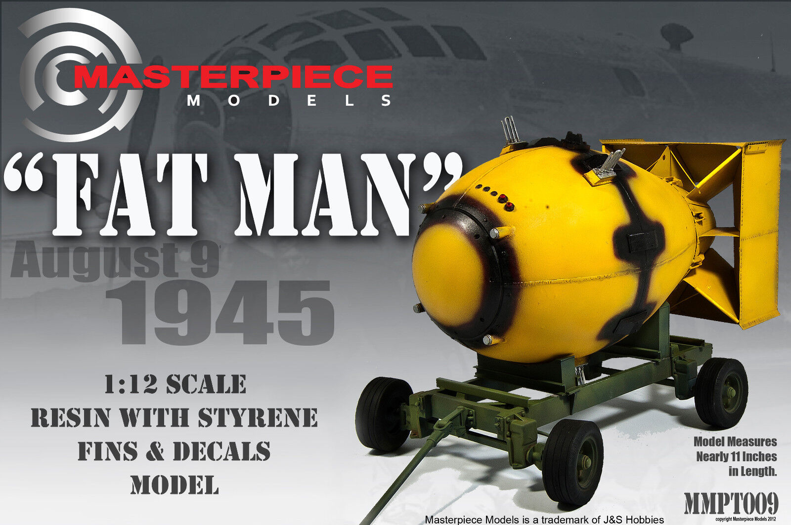 Fatman Atomic Bomb Model Kit Mmpt009 1 12th Scale New And Improved