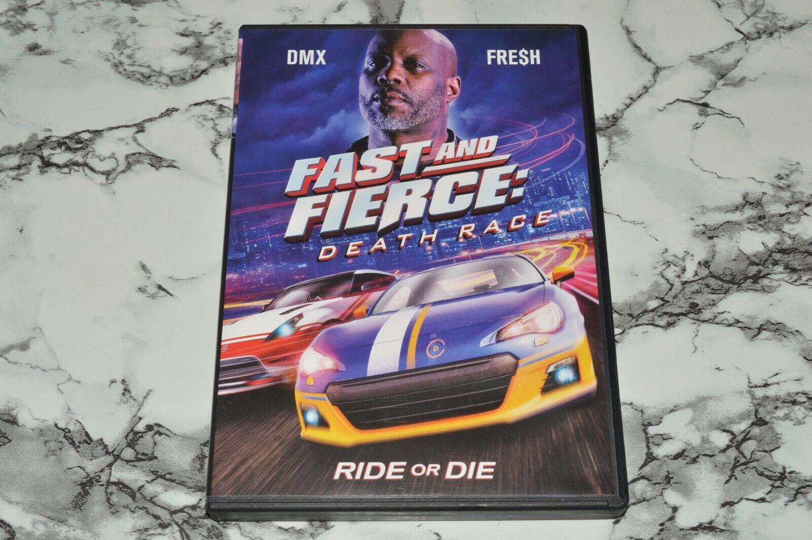 Fast And Fierce - Death Race DVD, 2020 -- DMX Fre h - $11.18