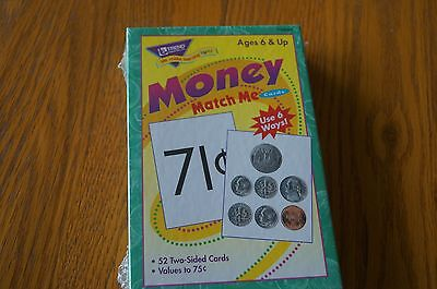 T 58003 Money Match Me Learning Cards Math Skills  Teaching Supplies -