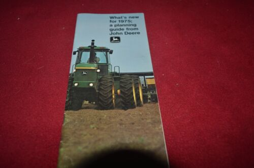 John Deere Whats New for 1975 Dealer
