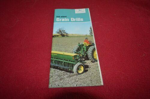 John Deere End Wheel Grain Drill For 1966 Brochure FCCA