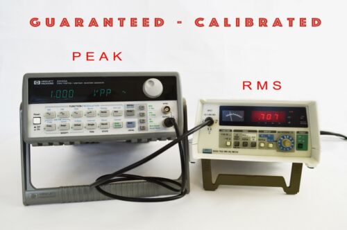 Fluke 8920A True RMS Voltmeter with option -  GUARANTEED - CALIBRATED