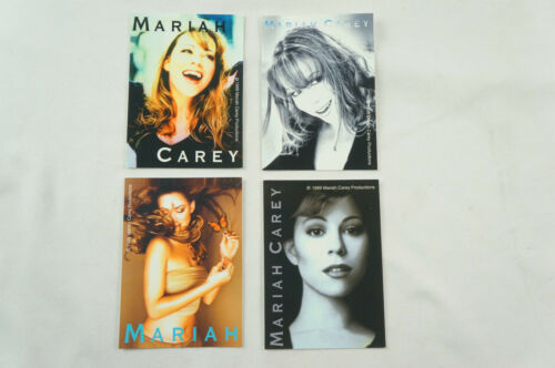 "Mariah Carey Complete 1999 3""x4.25"" 4 Sticker Vendor Collectible Set Mint S09"