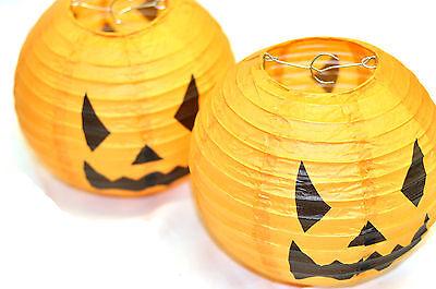 Individual Calabaza Faroles Decoración para Halloween Colgante Broma Miedo