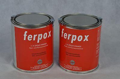 2 X FERTAN 1 KG FERPOX EPOXY PRIMER SPRÜHDOSE ROSTSCHUTZ FERPOX AUTO ROST KFZ  online kaufen